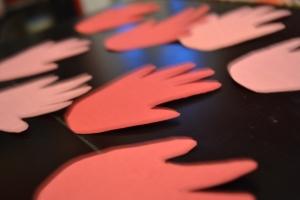 Davey's hands
