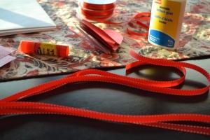 ribbons representating arm span