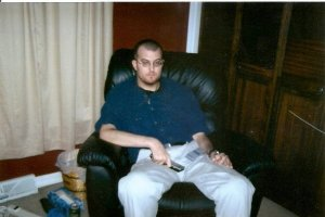 This was my brother, 8 days before he died.