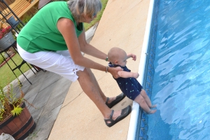 Swimmer Henry