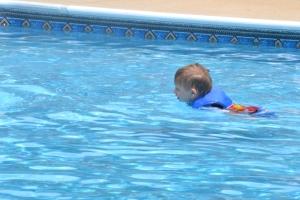 Swimmer Davey