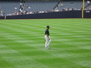 First season in the new stadium.  Our chance to see Derek Jeter in action