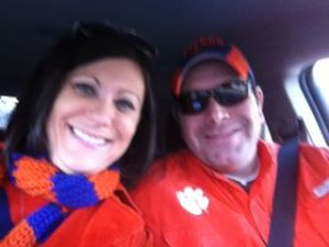 On our way to see the Tigers play!