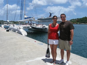 Cruising in St. Lucia