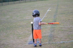 first time at bat.