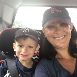 On our way to see the Yankees and Braves play!