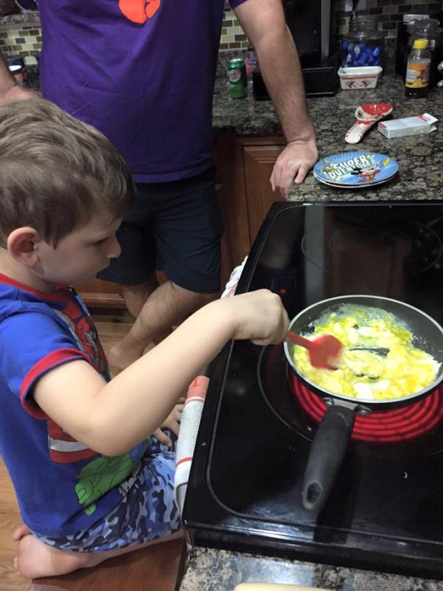 DAvey cooking 6